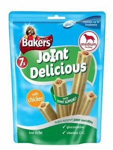 Bakers Joint Medium Dog Food Delicious Chicken 180 g - Pack of 6