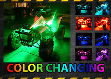 LED 14POD ATV QUAD YAMAHA RAPTOR 700R UNDERGLOW FENDER NEON LIGHT KIT w REMOTE