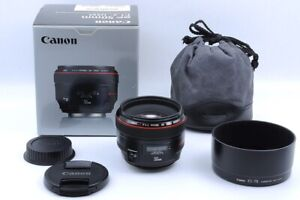 [Mint in BOX] Canon EF 50mm f/1.2L USM Lens for ef Mount from JAPAN