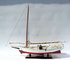Chesapeake Skipjack Oyster Sailboat Model - Handcrafted Model Display Ready 34""