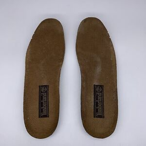 Timberland INSOLES Brown Gray Insert Footbed Men Size 10.5 US