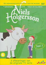 NIELS HOLGERSSON - DEEL 3 - 3 AFLEVERINGEN - SEALED DVD