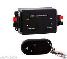 LED sin cables radio regulador Dimmer con mando a distancia barra de strip módulo 12v 24v 8a