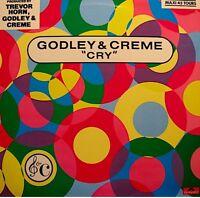++GODLEY & CREME cry/love bombs TREVOR HORN MAXI 1985 POLYDOR RARE EX++