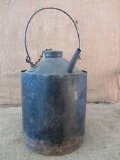 Vintage E J & E Rw Railway Oil Can > Antique Railroad Gas Tractor Rail Road 6719