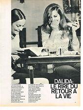 PUBLICITE   1967   DALIDA   le rire du retour à la vie ( 2 pages)