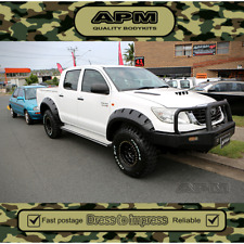 Jungle Flares For Toyota Hilux 2011-2015 Front & Rear Set, Wrinkle finished