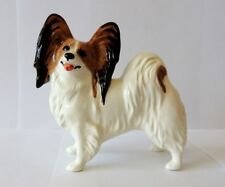 Papillon Author's Porcelain figurine NEW 2018 + Gift Box. NEW