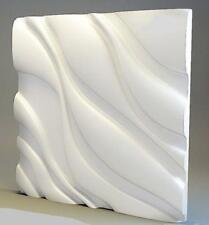 3D Panels Molds for Gypsym and Concrete Wall Panels 500x500 mm Cosiness