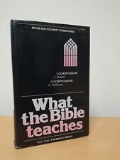 What the bible teaches 1&2 Corinthians Ritchie new testament Commentaries
