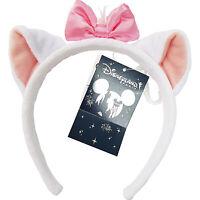 Disney Disneyland Paris Exclusive Marie Aristocats Ears Minnie Mouse Headband