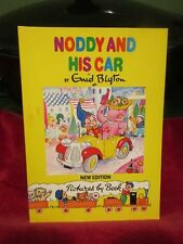Noddy and His Car (Book 3) by Enid Blyton (New Edition Paperback, 1990) Good
