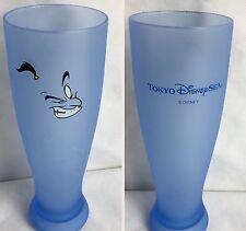 Tokyo Disney Cup Aladdin Genie Jeannie Disney Sea Jinni Blue Collectible RARE!!