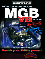 MGB V8 BOOK HOW TO MANUAL GIVE POWER WILLIAMS MG B