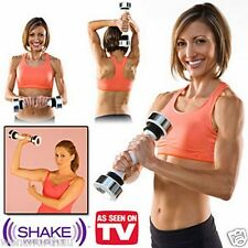 Shake Weight Dumbbell For Women DVD Shape & Tone Arms AB Rocket Twister Workout