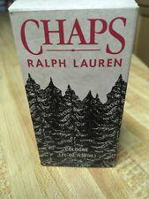 Chaps by Ralph Lauren cologne splash. Cosmair version. 1 oz/30 ml. Vintage BNIB