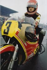 Randy Mamola Hand Signed 12x8 Photo Suzuki MotoGP.
