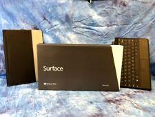 Microsoft Surface Pro 1 4GB 10.6 inch Black IN BOX 1514 w/Type Cover & Folio