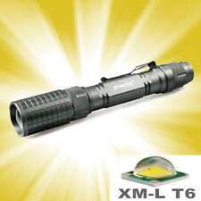 12000Lumens 5-Modes Cree XMLT6 Tactical Protable Focus LED Flashlight Zoomable