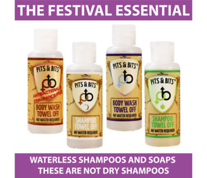 Shewee Pits And Bits Quad Pack - Festival Essentials