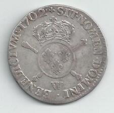 Louis XIIII - Demi écu - 1702 W - TB/TTB