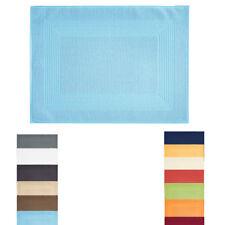 Vossen 19 11/16x27 5/8in New Generation Shower Mat Terry Cloth Narrow Hem Bath