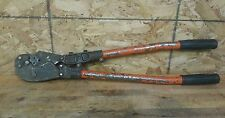 Thomas & Betts TBM8 Manual Crimper with Die #13461