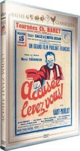Accusée, levez-vous - DVD ~ Gaby Morlay - NEUF - VERSION FRANÇAISE