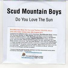 (EN797) Scud Mountain Boys, Do You Love The Sun - 2013 DJ CD
