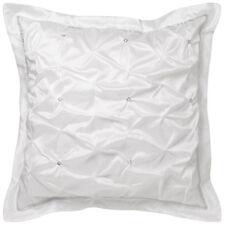 FRANCESCA WHITE European Pillowcase - Platinum Logan and Mason