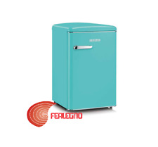 Refrigerator Fridge Single Door H90CM Turquoise Cl. in style Retro RKS8834