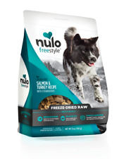 Nulo Freestyle Freeze-Dried Raw Salmon & Turkey with Strawberries 13oz