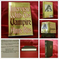 **First Edition, Second Print**, Interview with the Vampire by Anne Rice, BEAUTY