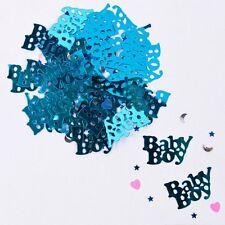 Eurowrap Azul Nuevo bebé chico felicitaciones Confeti de mesa 14 Gramos Partido espolvorear