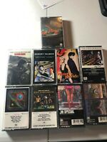 Styx Mellencamp Robert Palmer Roxette Journey REO Speedwagon Cassettes