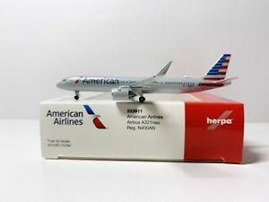 1:500 HERPA WINGS  American Airlines Airbus A321neo Art 533911 Reg N400AN