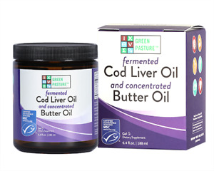 Fermented Cod Liver Oil | Green Pasture Blue Ice Unflavoured Royal Blend Aust...