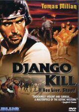 Django Kill!...If You Live, Shoot! [New DVD] Subtitled
