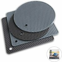 Potholders and Silicone Trivet Mats. Our 7 in 1 Multi-Purpose Kitchen Tool is He