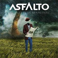 ASFALTO - Cronicas de un Tiempo / New CD 2017 / Spanish Hard Rock AOR since 70's
