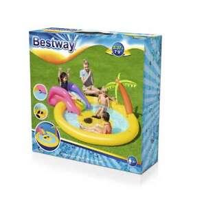 """Bestway® Planschbecken """"Sunnyland"""" 237 x 201 x 104 cm Schwimmbecken Rutsche"""