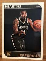 2014-15 Panini NBA Hoops Cory Jefferson RC #291 Brooklyn Nets Rookie🏀🏀