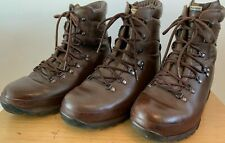 Genuine British Army ALTBERG Brown Leather MTP Boots Surplus Combat Patrol