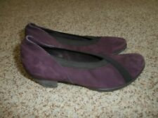 Arche  LN Purple Suede Heels  Shoes Size 36 US 6 Made in France