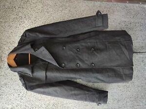 BLACK by Vanquish jacket wool parkas women