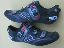 Sidi Ergo 2 Carbon sole 46.5.Euro / US-11.5 Mens black 3-bolt road shoes peloton