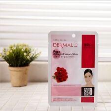 DERMAL ROSE Collagen Essence Mask Skin Elasticity Cosmetics 23g 5EA