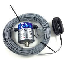 500 Watt 32m XL Multiband Dipol endgespeist  1:9 Balun EZwire 10m - 160m L:32M