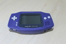 New Refurbished Game Boy Advance   Console  Purple New Body & Screen