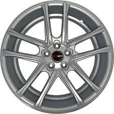 4 GWG Wheels 20 inch Silver ZERO Rims fits LINCOLN CONTINENTAL 2000 - 2002